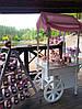 Свадебный Кенди Бар в стиле Шебби Шик на тележке, фото 2