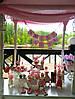 Свадебный Кенди Бар в стиле Шебби Шик на тележке, фото 3