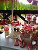 Свадебный Кенди Бар в стиле Шебби Шик на тележке, фото 4