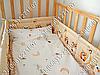 """Детское постельное белье в кроватку """"Бим Бом"""" комплект 5 ед. (сова бежевый), фото 4"""