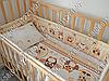 """Детское постельное белье в кроватку """"Бим Бом"""" комплект 5 ед. (сова бежевый), фото 5"""