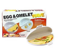 Омлетница Egg and Omelet Wave (Emson)