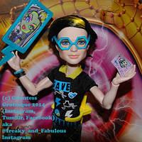"Кукла Monster High ""Спасти Фрэнки!"" - Джексон Джекилл Monster High Freaky Fusion Save Frankie Jackson Jekyll"