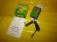 Цифровой терморегулятор с влагомером для инкубаторов Цып-Цып 10 Ампер 220 Вольт