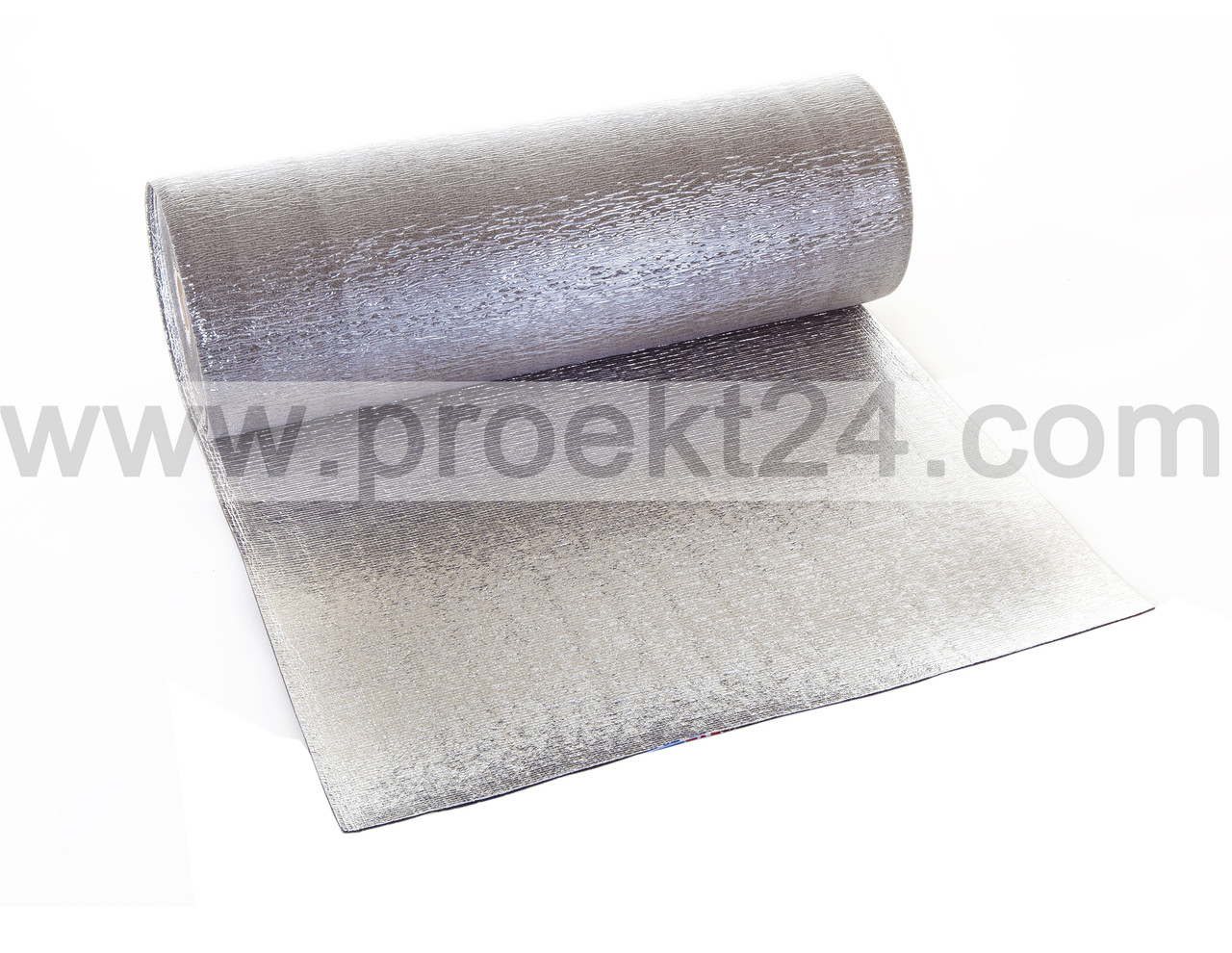 Вспененный полиэтилен фольгированный с двух сторон 8мм