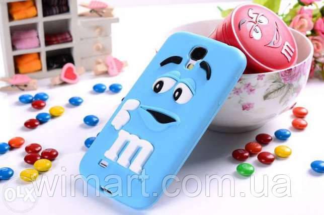 Чехол M&M's для Samsung Galaxy S3 I9300 голубой