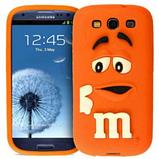 Чехол M&M's для Samsung Galaxy S3 I9300 голубой, фото 5