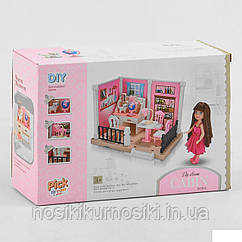 Набор мебели 686-001 для мини фигурок, мини кукол типа лол, флокс - детская комната