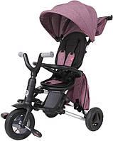 Qplay Складной трехколесный детский велосипед Qplay Nova+ Air (S700Purple+Air)