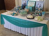 Свадебный Кенди бар в стиле Тиффани
