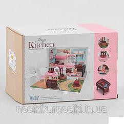 Набор мебели 686-003 для мини фигурок, мини кукол типа лол, флокс - кухня, питомец