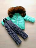 Зимние костюмы куртка и полукомбинезон детские, фото 5