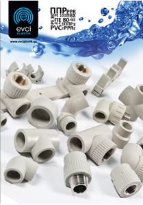 Колено (угол) полипропиленовые Evsi Plastik
