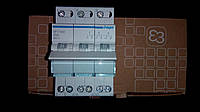 Перекидной рубильник 40А/230В, 3м (переключатель I-0-II SFT340, 3-пол,  Hager)