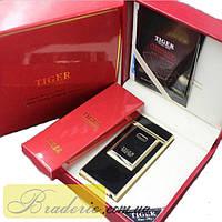 Электроимпульсная USB зажигалка Tiger 4336