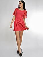 Платье Кукуруза+кружево (НАТ) 3032