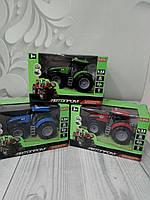 Детская игрушка трактор автопром 7923