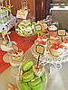 Свадебный Кенди бар Candy Bar в персиково-салатовых тоннах, фото 2
