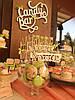 Свадебный Кенди бар Candy Bar в персиково-салатовых тоннах, фото 6