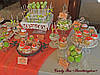 Свадебный Кенди бар Candy Bar в персиково-салатовых тоннах, фото 5