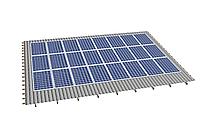 Комплект на 24 модулей на металлочерепичную скатную крышу.