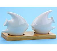 Солонки на подставке Рыбки оригинальный подарок прикольный