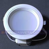 Светильник светодиодный дневного света IMPERIA 12w круг встраиваемый LUX-531015