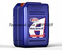 Масло моторное для двухтактных двигателей Agrinol Moto drive 2T канистра 20л