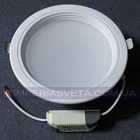 Светильник светодиодный дневного света IMPERIA 15w круг встраиваемый LUX-531260