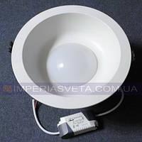 Светильник светодиодный дневного света IMPERIA 12w круг встраиваемый LUX-531262
