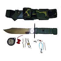 Нож выживания Rothco Special Forces Survival Kit Knife, фото 1