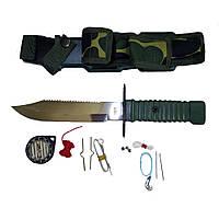 Нож выживания Rothco Special Forces Survival Kit Knife