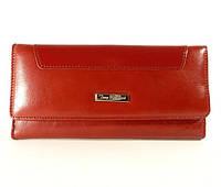 Кошелек, купюрник кожаный женский красный Tony Bellucci 601-911 Турция