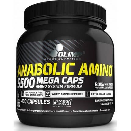 Аминокислота Olimp Anabolic Amino 5500 400 капсул, фото 2