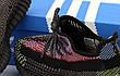Рефлектив   Жіночі кросівки в стилі Adidas Yeezy Boost 350 v2 Red Black Reflective, фото 5