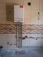 Монтаж индивидуального отопления  под ключ