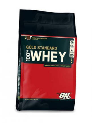 100% Whey Gold Standard 4,5 kg double rich chocolate, фото 2