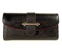 Кошелек, купюрник кожаный женский черный Tony Bellucci 519-985 Турция, фото 1
