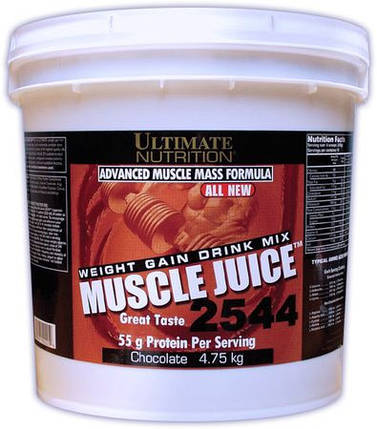 Гейнер Ultimate Nutrition Muscle Juice 2544 6 кг, фото 2