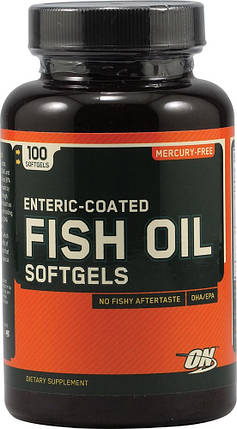 Омега-3 Optimum Nutrition Fish Oil 200 капсул, фото 2