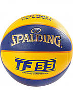 Мяч баскетбольный Spalding TF-33 IN/OUT FIBA Size 6, фото 1