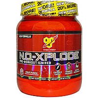 N.O.-XPLODE Pre-Workout New 1,11 kg cherry limeade