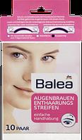 Смужки для видалення брів Balea Augenbrauen Enthaarungsstreifen, 10 St