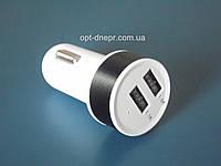Автомобильный адаптер USB на 2 порта