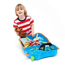 Чемодан детский на колесах Terrance Trunki TRUB054, фото 2