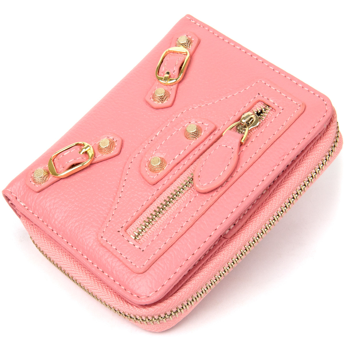 Компактний гаманець для жінок Guxilai 19393 Рожевий