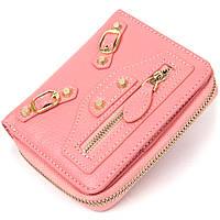 Компактний гаманець для жінок Guxilai 19393 Рожевий, фото 1