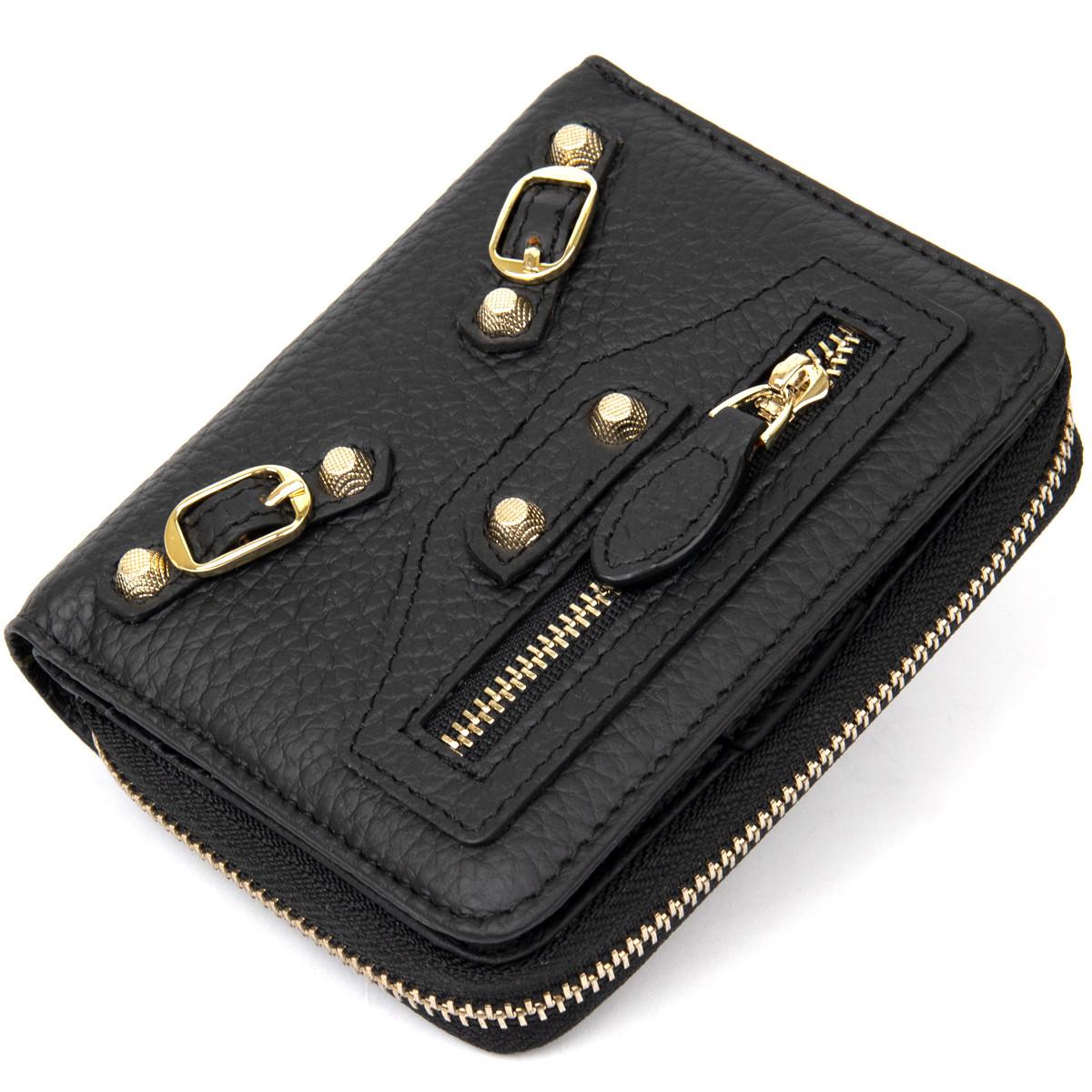 Небольшой кошелек для женщин Guxilai 19394 Черный