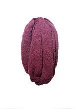 Красивый стильный женский вязаный шарф.