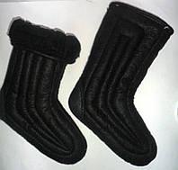 Валенки шитые с черным мехом